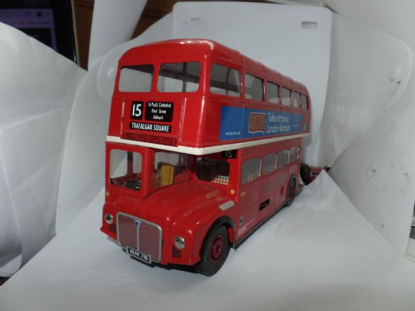 Mettoy Tinplate Routemaster Buses & Taxis